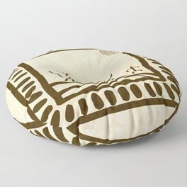 Ethnic 3 Canary Islands Floor Pillow