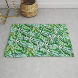 Crystal Emerald Green Gem 1 Rug