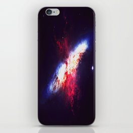 When Two Stars Collide iPhone Skin