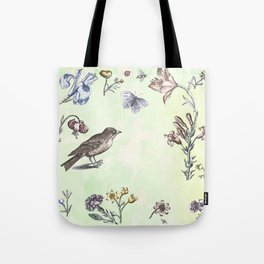 Nature is a temple Tote Bag