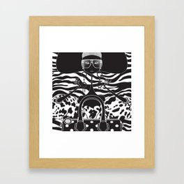 Marc Jacobs Close Framed Art Print