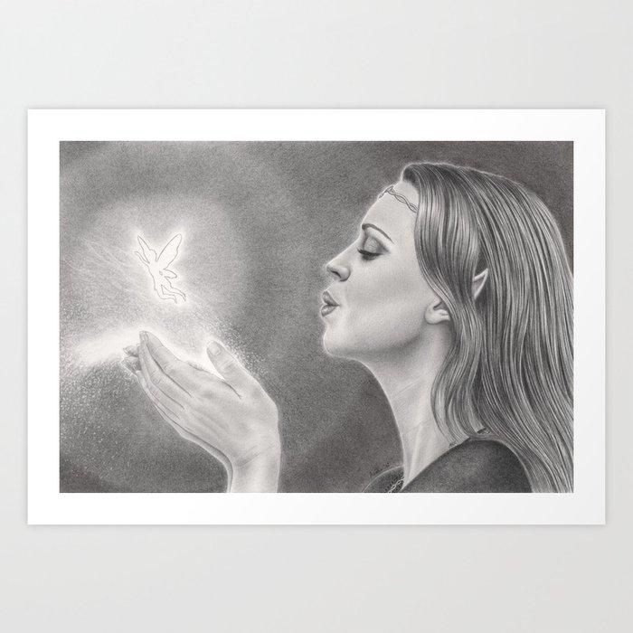 Fairy Dust Art Print