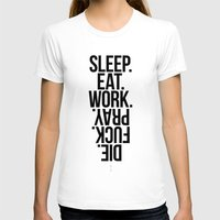 sleep T-shirts featuring Sleep by KubikMichal
