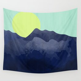 Sunset Mountain Wall Tapestry