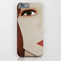Red Head from Another Dream iPhone 6s Slim Case