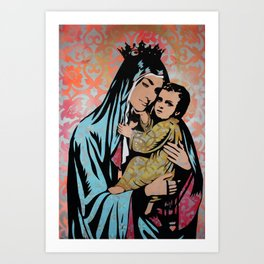 In Guad we Trust Art Print