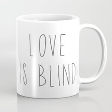 Pitbull - Love is blind - Stevie the wonder dog Mug