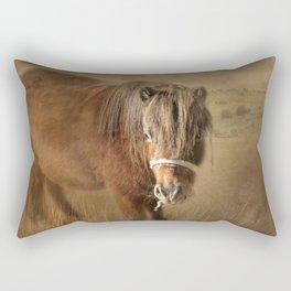 Wanna Be Friends? Rectangular Pillow