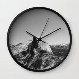 Glacier Point, Yosemite National Park Wall Clock