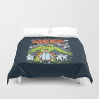 muppet Duvet Covers featuring Incredible Meep by Hoborobo