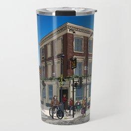 London Blue Sky Travel Mug