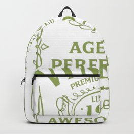Green-Vintage-Limited-1992-Edition---25th-Birthday-Gift Backpack
