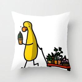 Plant Babies | Veronica Nagorny  Throw Pillow