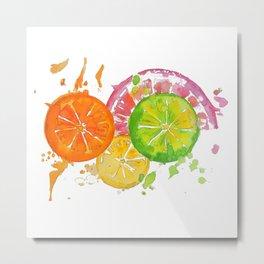 Citrus Burst! Metal Print