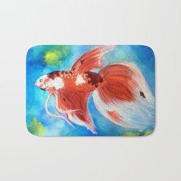 Koi Betta Fish Bath Mat