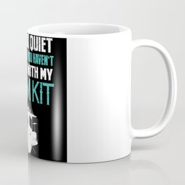 Funny Drum kit Drummer Gift Coffee Mug