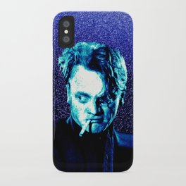 James Cagney, blue Madness. iPhone Case