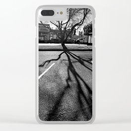 Shadow Tree - Pacific Northwest Clear iPhone Case