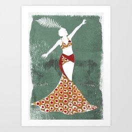 Mae Murray Art Print