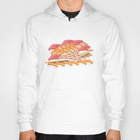 sushi Hoodies featuring Sushi !! by Bartone