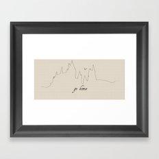 Hogwarts, A Home Framed Art Print