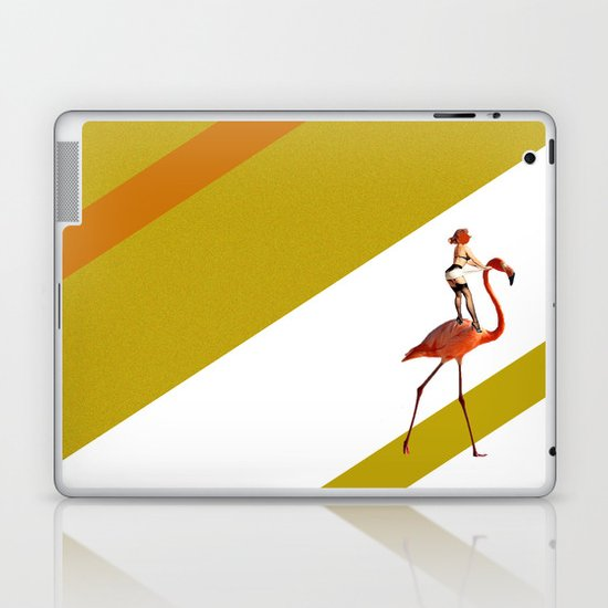 Baby you can ride my flamingo Laptop & iPad Skin
