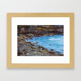 Northern Beaches Framed Art Print
