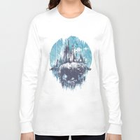 wanderlust Long Sleeve T-shirts featuring Wanderlust by Robson Borges