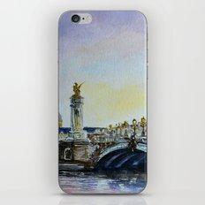 Pont Alexandre III iPhone & iPod Skin