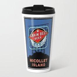 Landmark Series | MN Nicollet Island Grain Belt Bridge Travel Mug