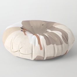 Spirit Animal – Elephant Floor Pillow