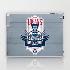 Logan's Barbershop Laptop & iPad Skin