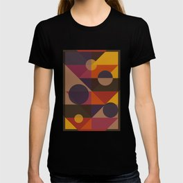 Geometric abstraction T-shirt