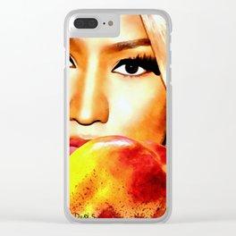 Nicki Eyes Clear iPhone Case