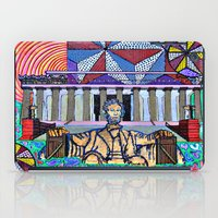 lincoln iPad Cases featuring Lincoln Memorial by Art By Carob