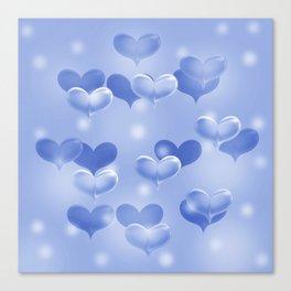 sweethearts blue Canvas Print
