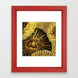 Slices Framed Art Print
