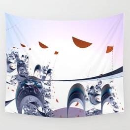 Sending messages Wall Tapestry