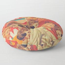 Woman Power Floor Pillow