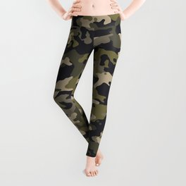 CUSTOM ARMY CAMO 10 Leggings