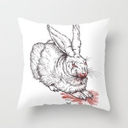 the beast of caerbannog Throw Pillow