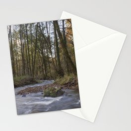 Winter along the Brook Stationery Cards