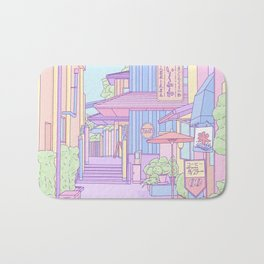 Continuously Lost in Japan Bath Mat