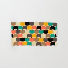 Retro abstract pattern Hand & Bath Towel