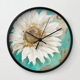 Aqua Paris Wall Clock