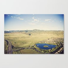 more to life::denver Canvas Print
