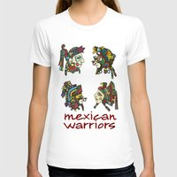 mexican T-shirts featuring mexican warriors by laika in cosmos