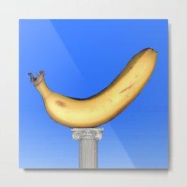 Ionic Banana Metal Print