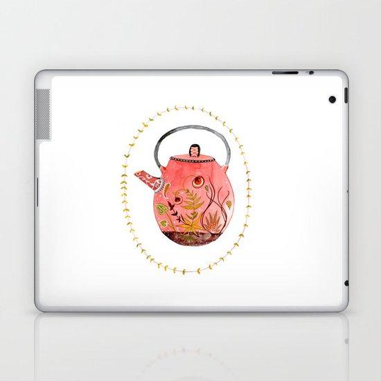 teapot terrarium Laptop & iPad Skin