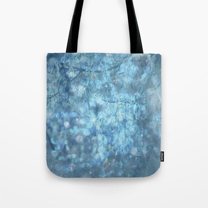MYSTICAL BLUE WINTER Tote Bag